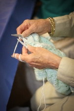 hands-knitting