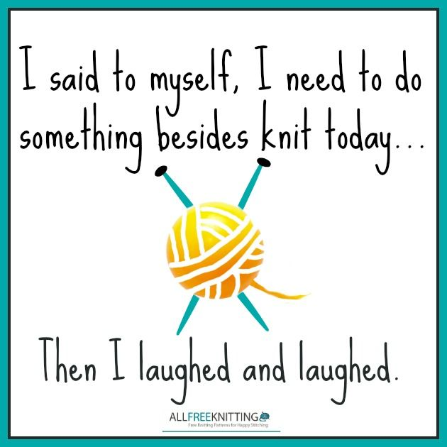 Knitting Humor Cartoon : Knitting cartoons are too funny