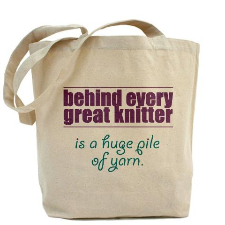 knitting-bag