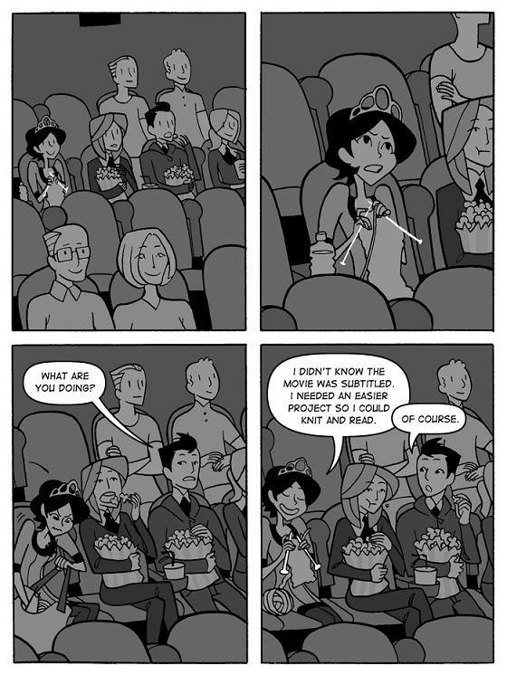 movie-watching