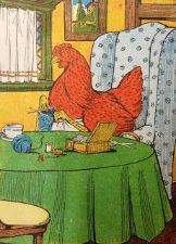 chicken-knitting