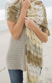 Learn2Knit a Shawl