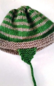 Child's Knit hat in-the-round