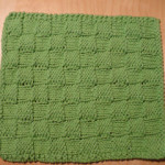 Checkerboard Dishcloth1