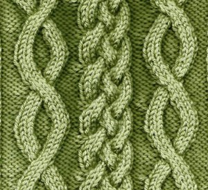Braided & Crossover Cable for Intermediate Knitting class