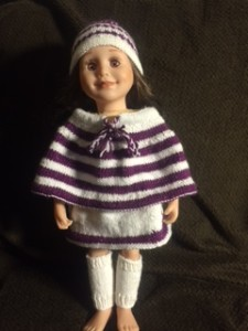 Knit doll clothes