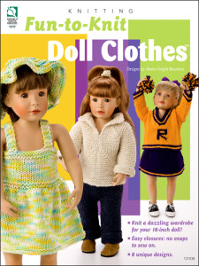 Knit doll clothes pattern book
